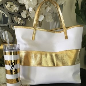 Gold Stripe Bag image