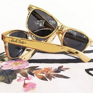 Metallic Bachelorette Bride Tribe Sunglasses image