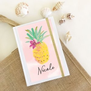 Tropical Beach Personalized Journals image