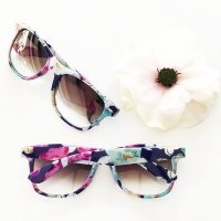 Floral Sunglass Favors