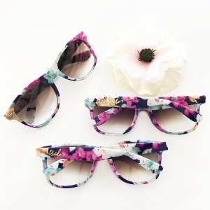 Bride Tribe Floral Sunglasses image