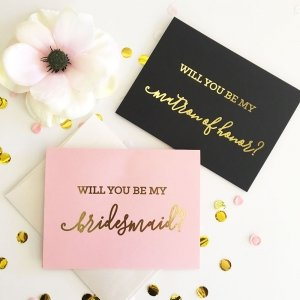 Be My Bridal Party Cards (set of 4) image