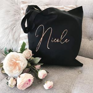 Personalized_Canvas Tote image