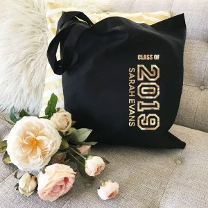 Personalized Graduation Tote Bag image