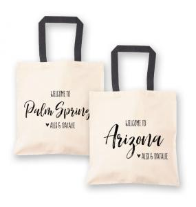 State Canvas Welcome Tote Bag image