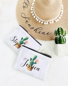 Fiesta Canvas Cosmetic Bags image