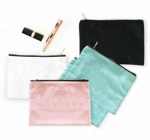 Blank Canvas Cosmetic Bags image