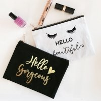 Theme Canvas Cosmetic Bags