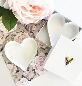 Blank Heart Shaped Ring Dish image