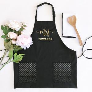 Personalized Mrs. Aprons image