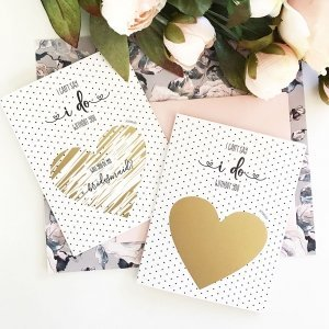 Wedding Party Proposal Scratch Off Cards image