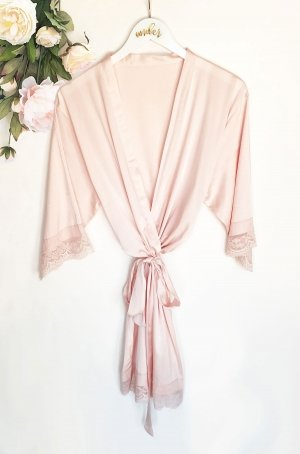 Satin Lace Robes image