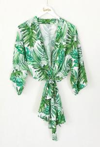 Palm Leaf Cotton Robes image