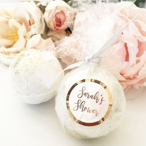 Foil Custom Bath Bomb Favors image