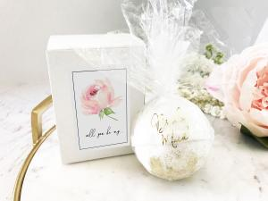 Bridal Party Proposal Bath Bombs image