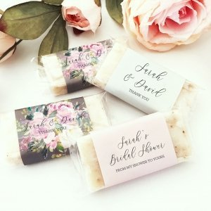 Personalized Mini Soap Favors (Set of 5) image