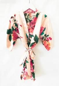 Watercolor Floral Child Robes image