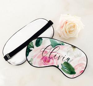 Floral Sleep Mask image