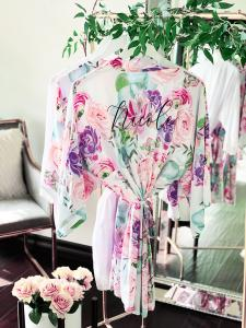 Personalized Succulent Cotton Robes image
