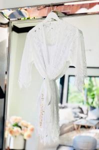 Personalized Lace Robe image