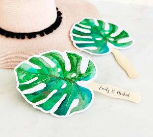 Palm Leaf Fans image