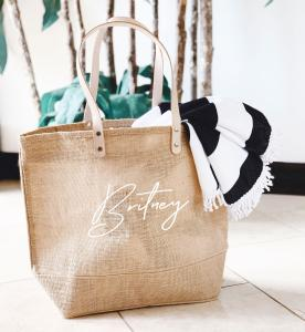 Personalized Jute Bags image