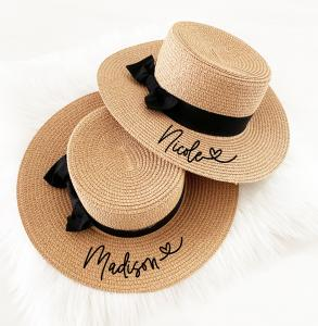 Personalized Boater Hat image
