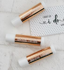 Bride Tribe Foil Lip Balms (set of 6) image