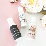 Personalized Floral Garden Hand Lotion Favors