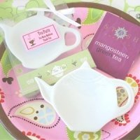 Tea Time Porcelain Teapot Dish Favors