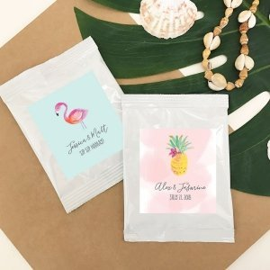 Personalized Tropical Beach Lemonade Favors image