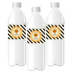Personalized Classic Halloween Water Bottle Labels
