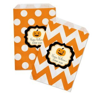 Personalized Classic Halloween Goodie Bags (Set of 12) image