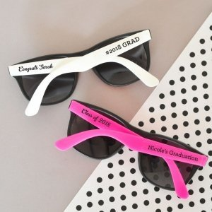 Personalized Graduation Sunglasses Favors image