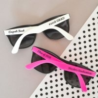 Personalized Graduation Sunglasses Favors