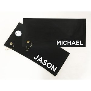Personalized Golf Towels image