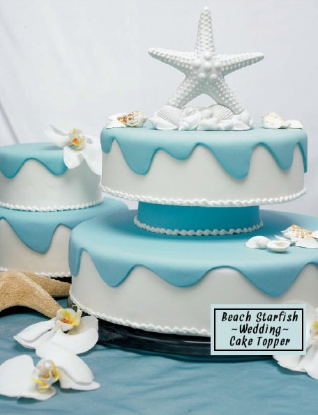 Beach Starfish Wedding Cake Topper Wedding Favors Unlimited