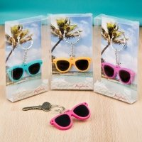 Fun Sunglass Key Chain Favors