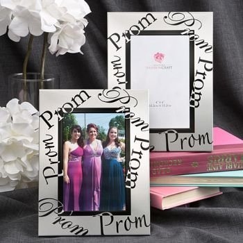 Silver Prom Design Picture Frame image