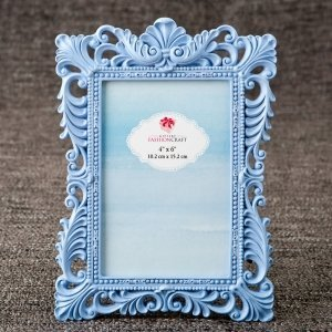 Blue Serenity 4x6 Baroque Frame image