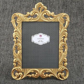 Baroque Gold Openwork 8 x 10 Frame image