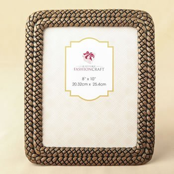 Double Braided Caramel Color 8 x 10 Frame image