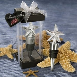 Elegant Starfish Wine Stoppers image