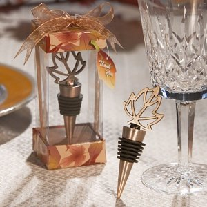 Autumn Leaf Bottle Stopper image
