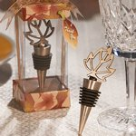 Autumn Leaf Bottle Stopper