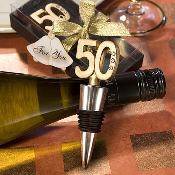 50th Golden Anniversary Party Favors @ Wedding Favors Unlimited