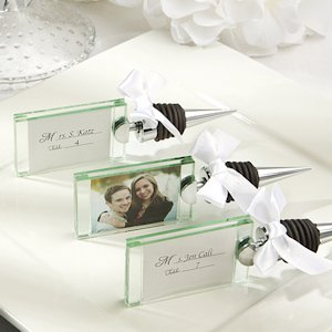 Photo/Place Card Holder Wine Bottle Stopper image