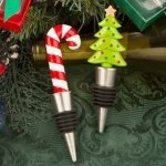 Happy Holidays Bottle Stopper Party Favors