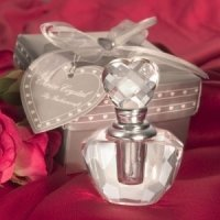 Crystal Perfume Bottle Favor