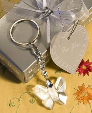 Choice Crystal Butterfly Keychain Favors image